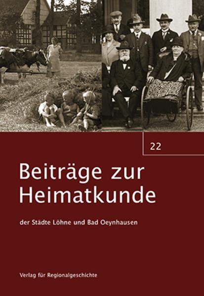 Beiträge zur Heimatkunde der Städte Löhne und Bad Oeynhausen - Coverbild