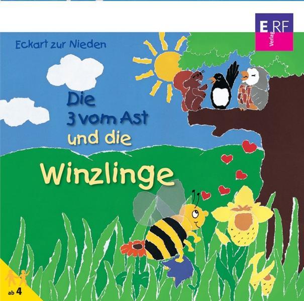Die Drei vom Ast und die Winzlinge - Coverbild