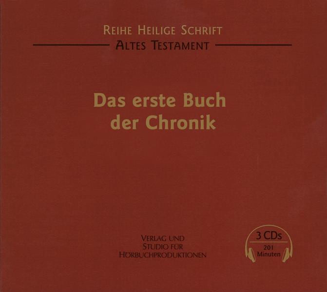 Das erste Buch der Chronik - Coverbild