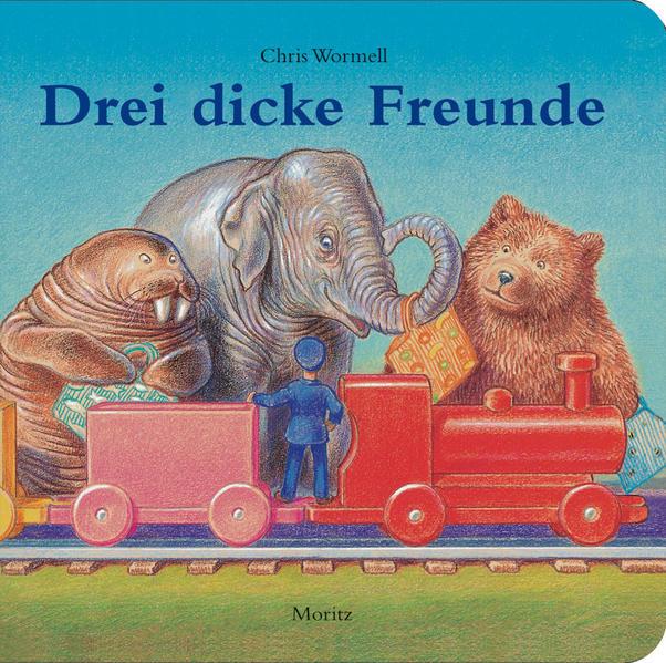 Drei dicke Freunde - Coverbild