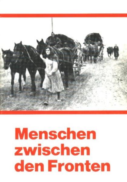 Menschen zwischen den Fronten - Coverbild