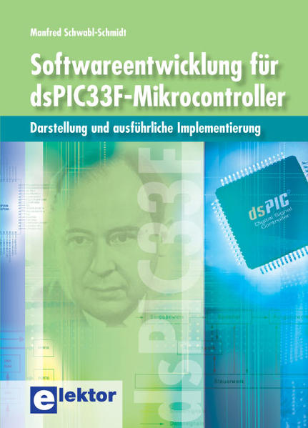 Softwareentwicklung für dsPIC33F-Mikrocontroller - Coverbild