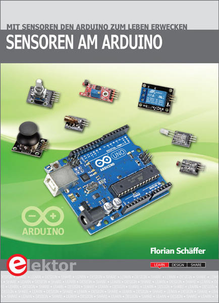 Sensoren am Arduino - Coverbild