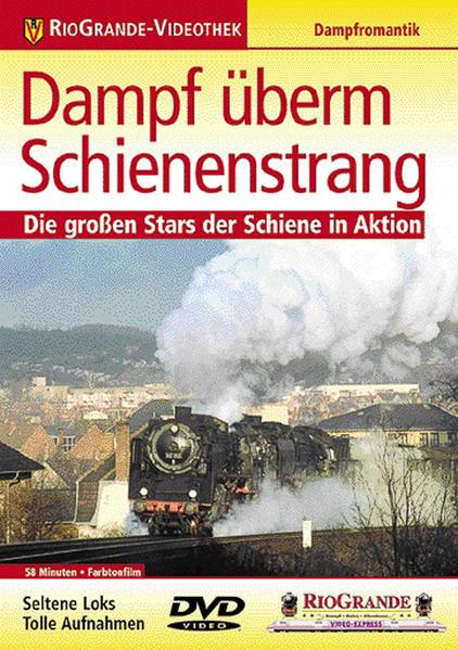 Dampf überm Schienenstrang - Coverbild