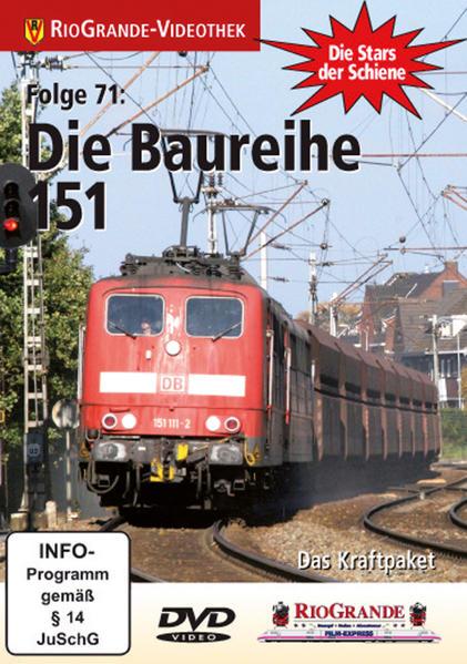 Die Baureihe 151 - Coverbild