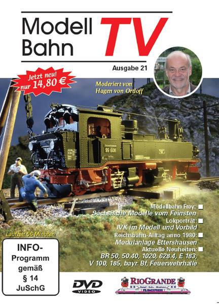 Modellbahn TV - Ausgabe 21 - Coverbild