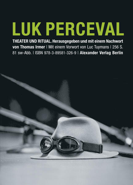 Luk Perceval. Theater und Ritual - Coverbild