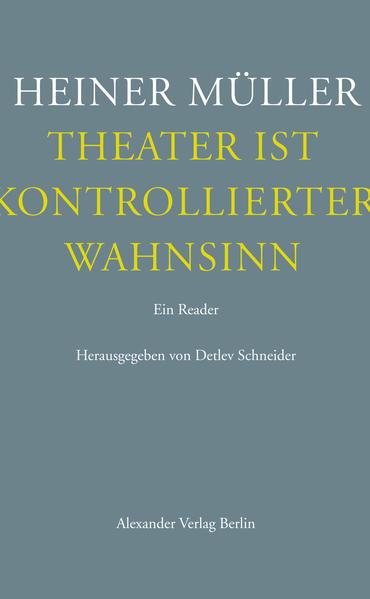 Theater ist kontrollierter Wahnsinn PDF Herunterladen