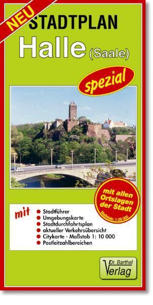 Stadtplan Halle (Saale) - spezial - Coverbild