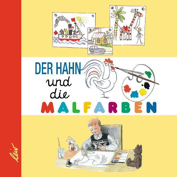 Der Hahn und die Malfarben - Coverbild