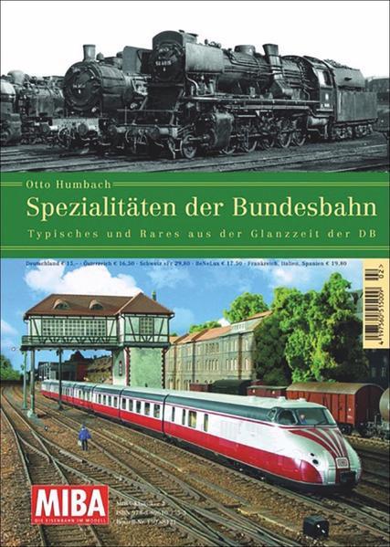 Spezialitäten der Bundesbahn - Coverbild