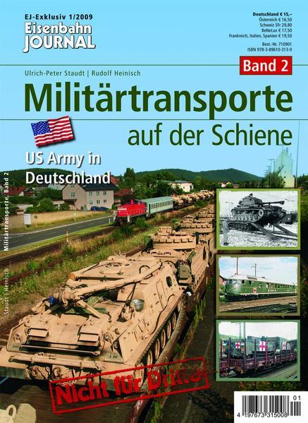Militärtransporte auf der Schiene - Band 2 - Coverbild