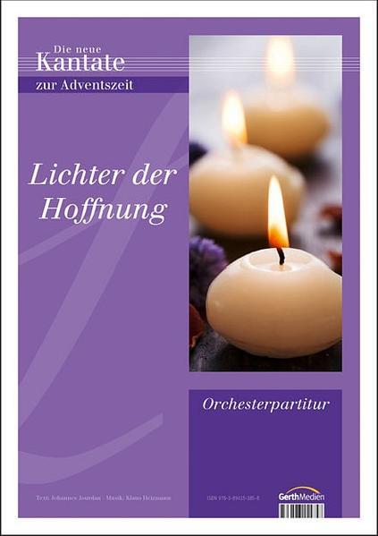 Lichter der Hoffnung. Adventskantate - Coverbild