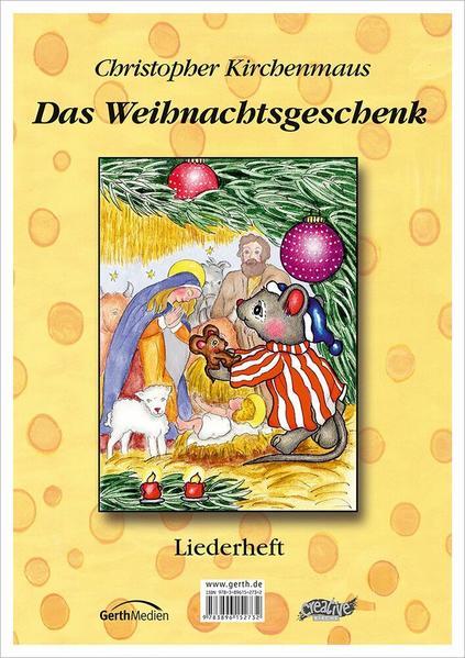 Christopher Kirchenmaus - Das Weihnachtsgeschenk - Coverbild