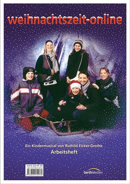 weihnachtszeit-online (Arbeitsheft)* - Coverbild