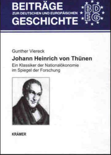 Johann Heinrich von Thünen - Coverbild