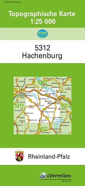 Download PDF Kostenlos TK25 5312 Hachenburg