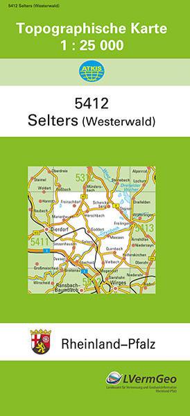 TK25 5412 Selters (Ww.) - Coverbild