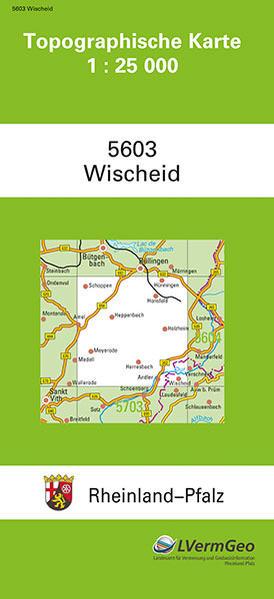 TK25 5603 Wischeid - Coverbild