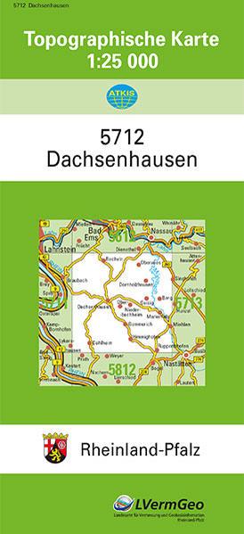 TK25 5712 Dachsenhausen - Coverbild