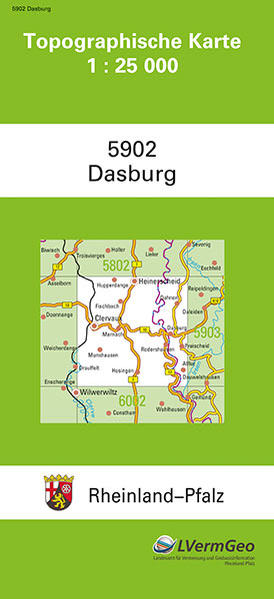 TK 25 5902 Dasburg - Coverbild