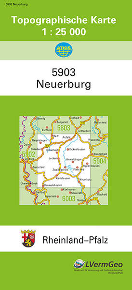 TK25 5903 Neuerburg - Coverbild