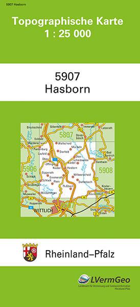 TK25 5907 Hasborn - Coverbild
