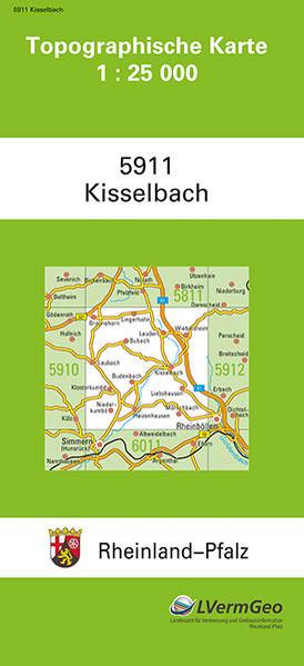 TK25 5911 Kisselbach - Coverbild