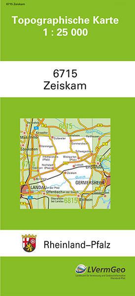 TK25 6715 Zeiskam - Coverbild
