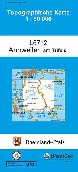 TK50 L6712 Annweiler am Trifels - Coverbild