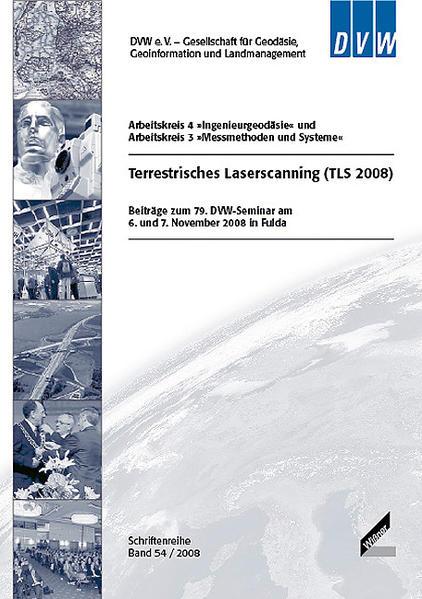 Terrestrisches Laserscanning (TLS 2008) - Coverbild
