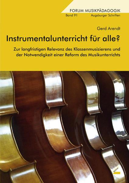 Instrumentalunterricht für alle? - Coverbild