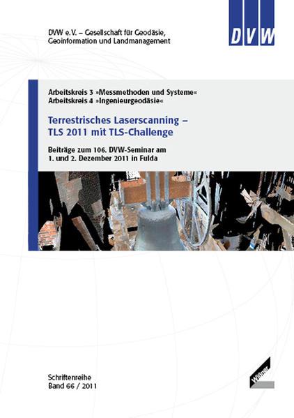 Terrestrisches Laserscanning – TLS 2011 mit TLS-Challenge - Coverbild