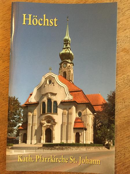 Höchst: Kath. Pfarrkirche St. Johann - Coverbild