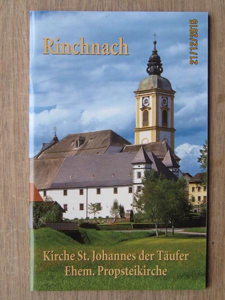 Rinchnach Kirche St. Johannes der Täufer - Coverbild