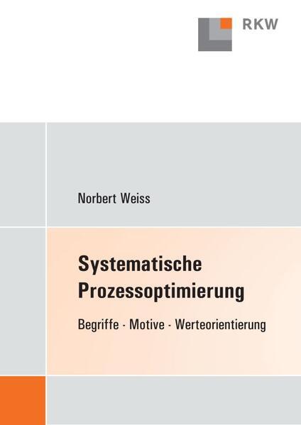 Systematische Prozessoptimierung - Coverbild