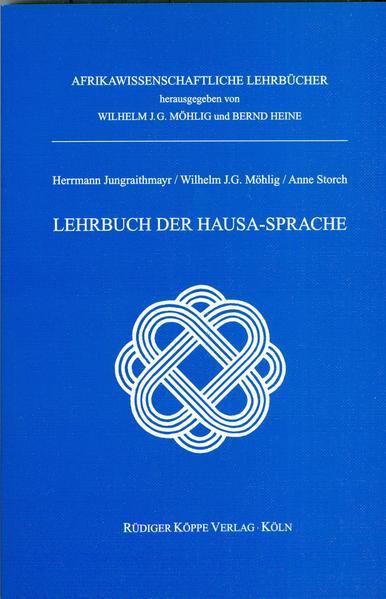 Lehrbuch der Hausa-Sprache - Coverbild