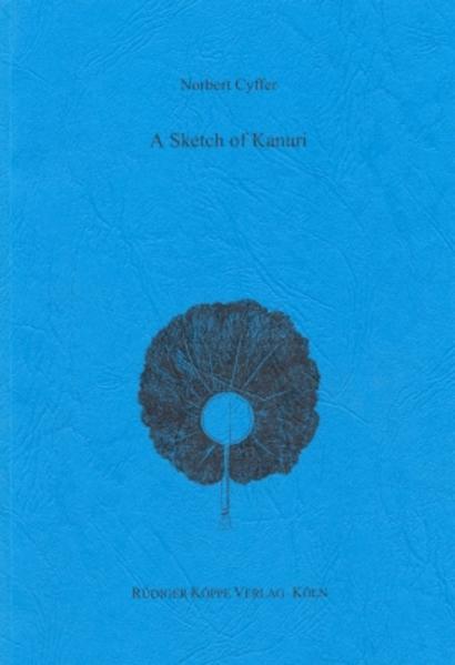 A Sketch of Kanuri - Coverbild