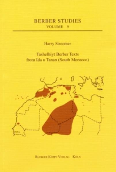 Tashelhiyt Berber Texts from Ida u Tanan EPUB Kostenloser Download