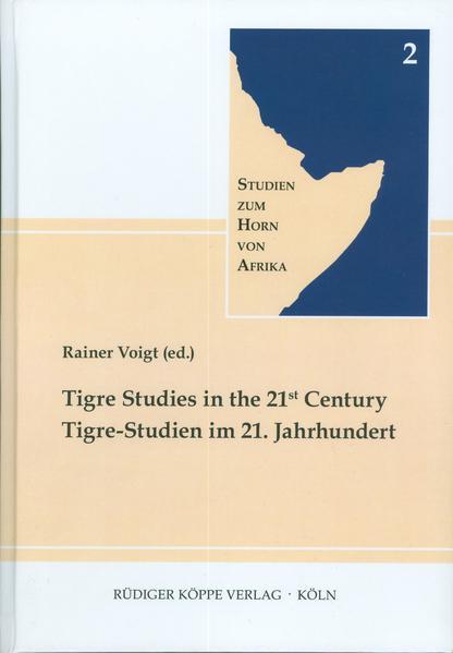 Tigre-Studien im 21. Jahrhundert – Tigre Studies in the 21st Century - Coverbild