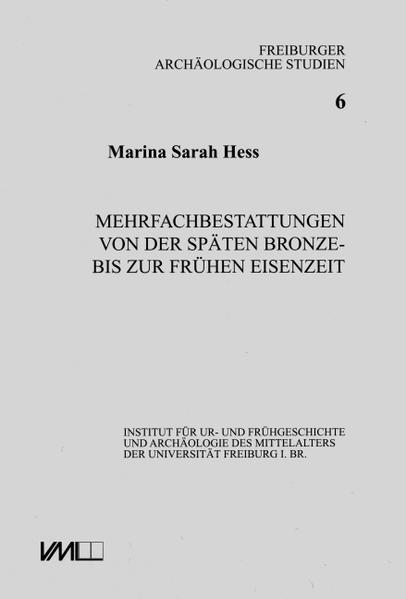 Mehrfachbestattungen von der Spätbronze- bis zur frühen Eisenzeit - Coverbild