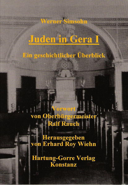 Juden in Gera I - Coverbild