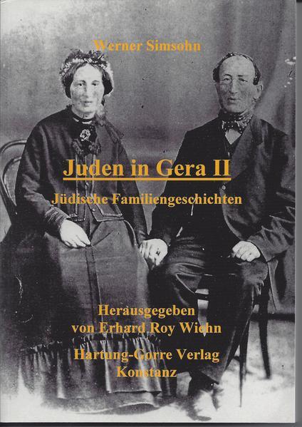 Juden in Gera / Jüdische Familiengeschichten - Coverbild
