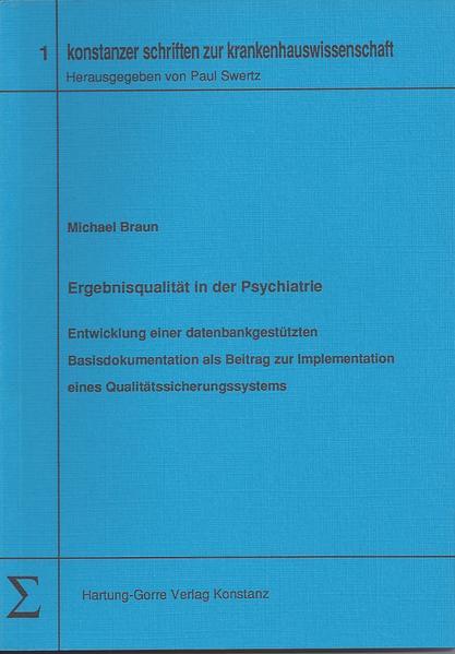 Ergebnisqualität in der Psychiatrie - Coverbild