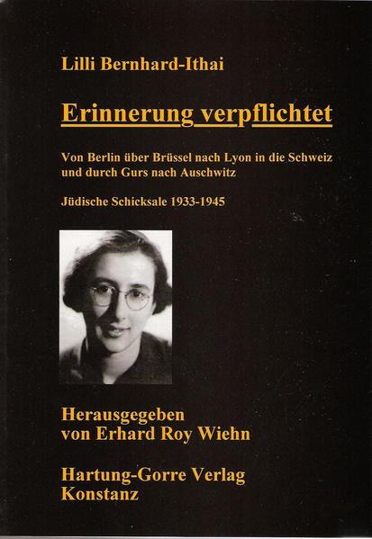 Erinnerung verpflichtet - Coverbild