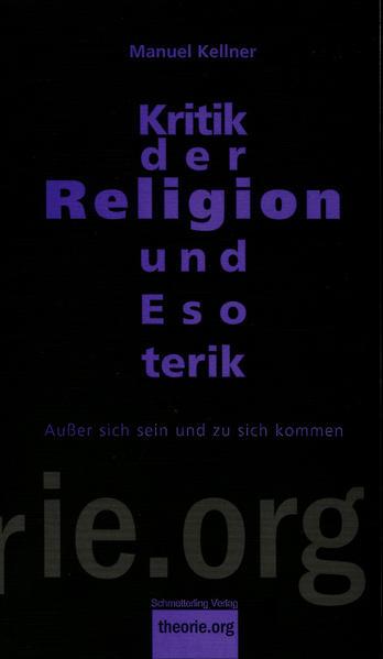Kritik der Religion und Esoterik - Coverbild