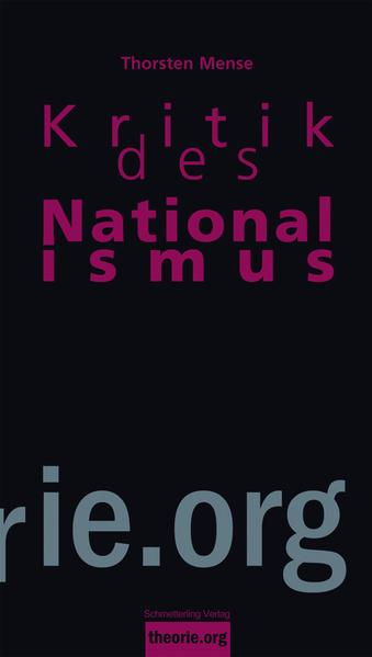 """""""Kritik des Nationalismus"""" - 978-3896576859 MOBI EPUB"""