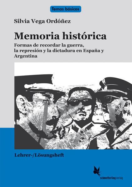 Memoria histórica / Lehrerheft - Coverbild