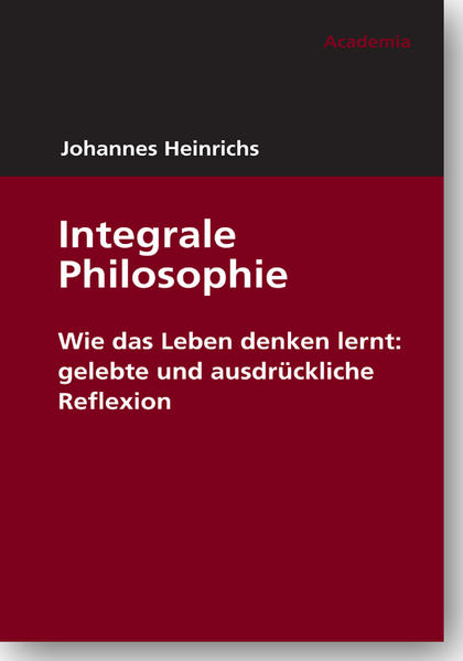 Integrale Philosophie - Coverbild