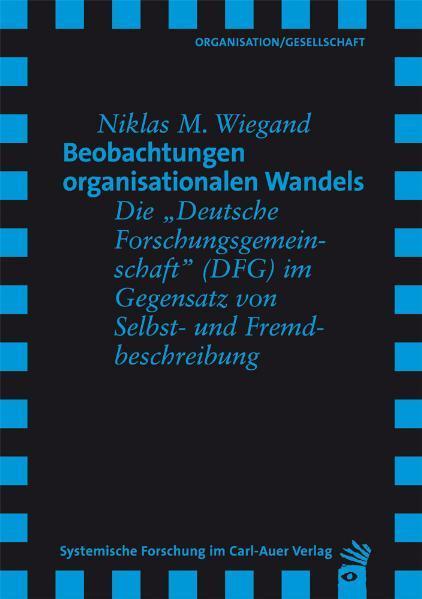 Beobachtungen organisationalen Wandels - Coverbild